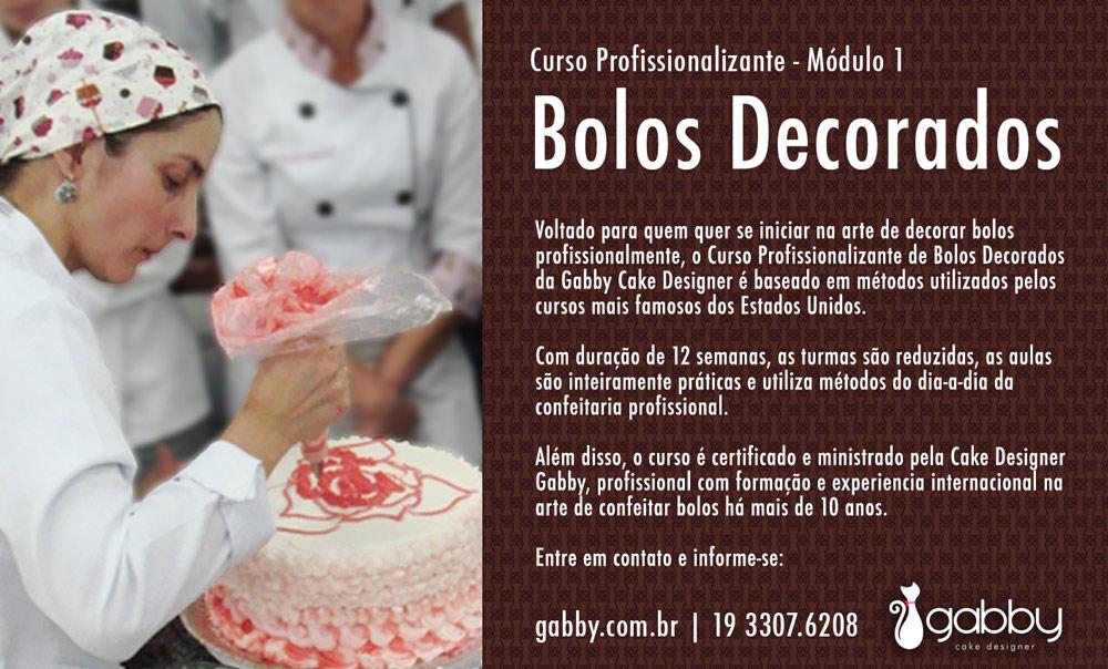 Curso Gabby Cake Design