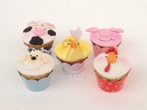 Cupcakes Fazendinha By Gabby